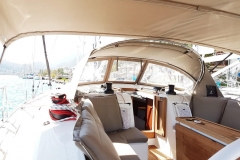 Marlin Outside (Bavaria 46 Style Cruiser Stock Photo )