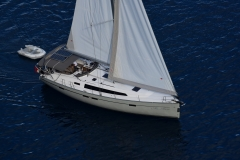 Marlin Sailing (Bavaria 46 Style Cruiser Stock Photo )