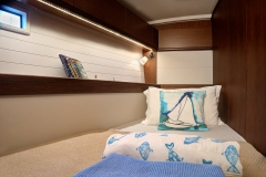 Marlin Head Cabin - 4 cabin option (Bavaria 46 Style Cruiser Stock Photo )